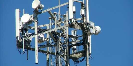 Une antenne-relais de téléphonie mobile.