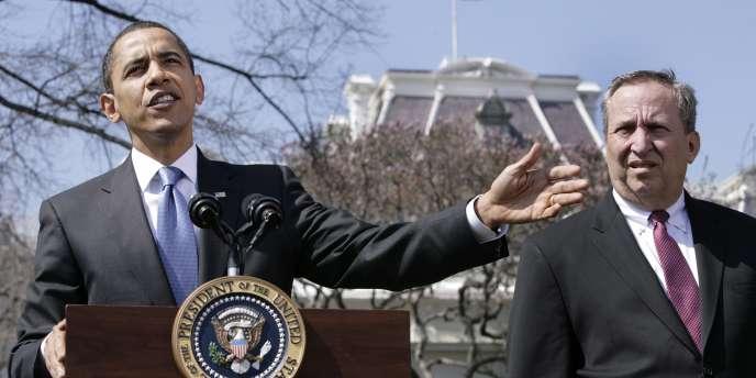 Lawrence Summers a été le maître d'œuvre du plan de relance budgétaire promulgué début 2009 pour aider l'économie américaine à passer le cap de la récession.