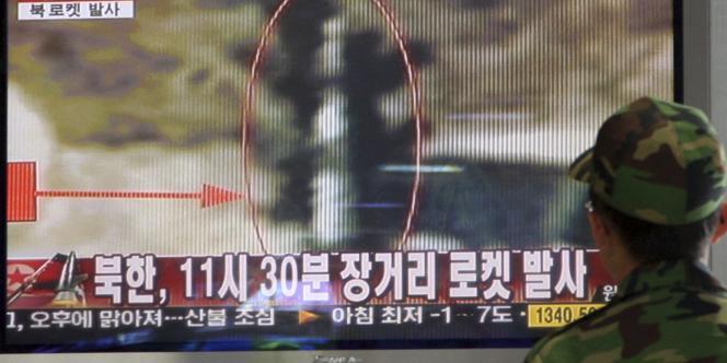 Les Etats-Unis et leurs alliés asiatiques soupçonnent que ce lancement ne masque un tir expérimental de missile longue portée Taepodong-2.