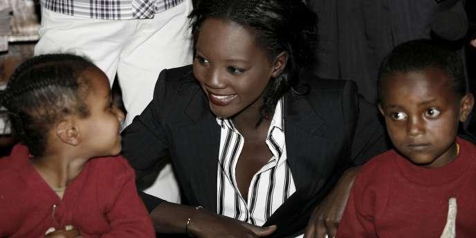 La secrétaire d'Etat aux sports, en Ethiopie, le 10 avril 2009.