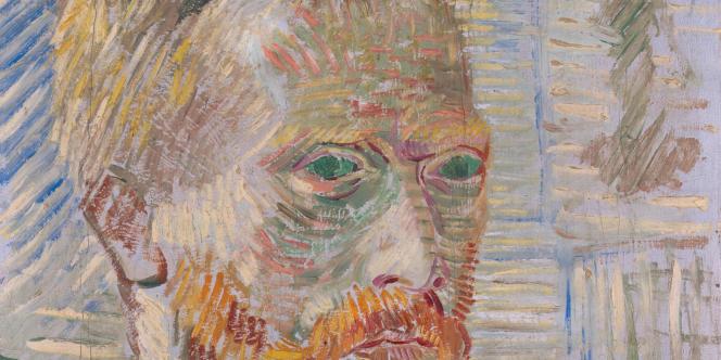 Autoportrait de Vincent Van Gogh, décembre 1887.