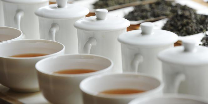 A la recherche du meilleur mélange de thés.