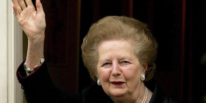 Margaret Thatcher, la