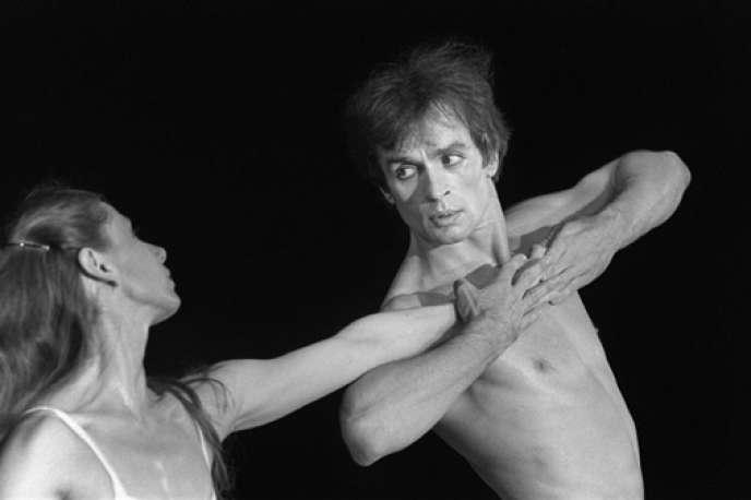 Rudolf Noureev dans «Afternoon of a Faun».