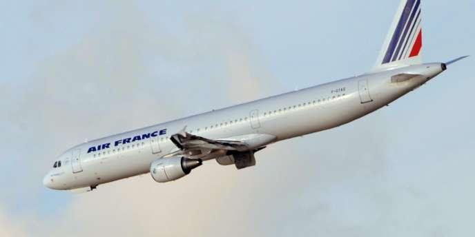 Un avion Air France, en novembre 2008.