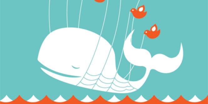 La fameuse baleine de Twitter, qui signale un problème technique.