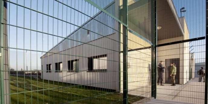 Le centre de rétention administrative de Metz-Queuleu, ouvert en janvier 2009.