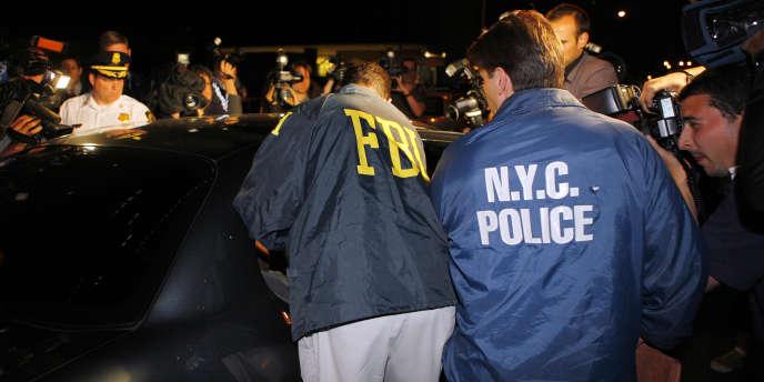 Les quatre hommes soupçonnés de tentatives d'attentats contre des synagogues new-yorkaises ont été arrêtés le 21 mai 2009.