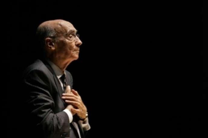 José Saramago, Prix Nobel de littérature 1998.