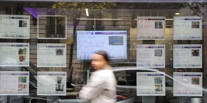 Selon Clameur, les loyers de marché ont augmenté de 0,1 % sur les huit premiers mois de l'année 2013 comparés à la même période de 2012.
