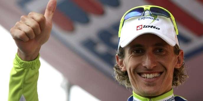 Franco Pellizotti avait été suspendu en 2009 en raison de