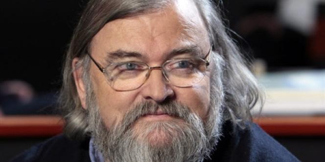 Michel Le Bris, à Saint-Denis, en octobre 2008.