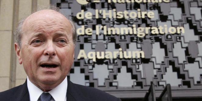 Jacques Toubon, le 10 octobre 2007, à Paris.