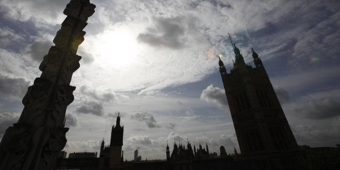 Le Parlement britannique.