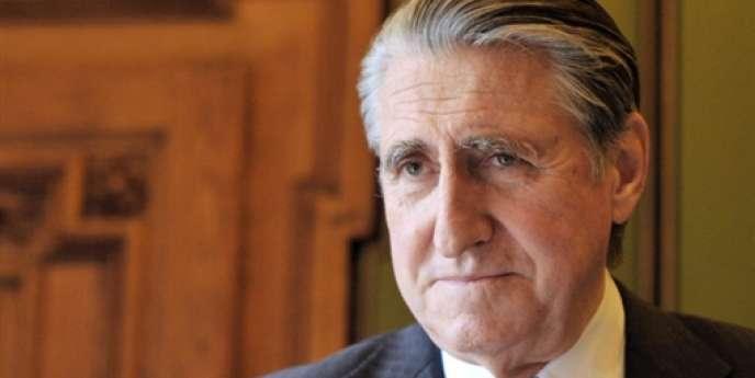Ernest-Antoine Seillière, président du conseil de surveillance de Wendel, le 26 mars 2009 à Paris.
