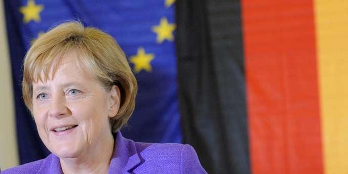 La chancelière allemande, Angela Merkel, en juin 2009.