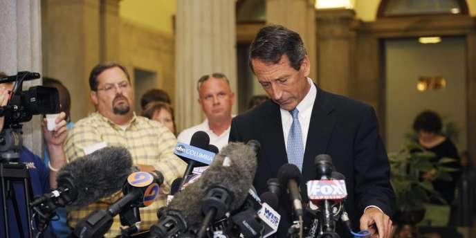Etoile montante du Parti républicain et père de quatre enfants, Mark Sanford a démissionné avec fracas de son poste de gouverneur de Caroline du Sud en 2009. Aujourd'hui, il se présente à nouveau devant les électeurs.
