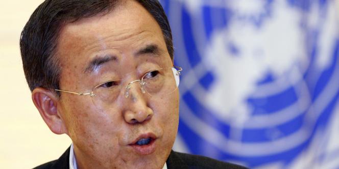 Le secrétaire général de l'ONU, Ban Ki-moon, a annoncé une réunion du Conseil de sécurité sur la crise libyenne, mardi 22 février.