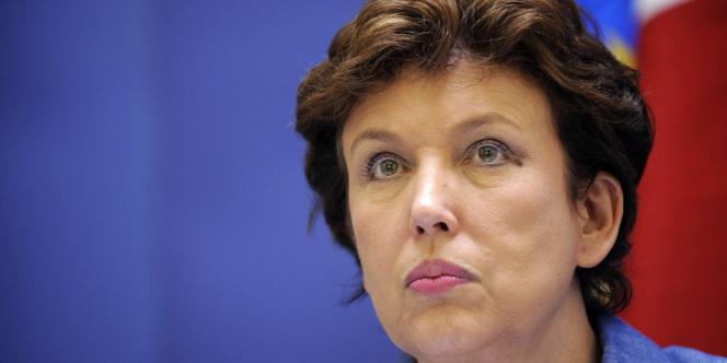 Roselyne Bachelot, alors ministre de la santé, en juillet 2009.