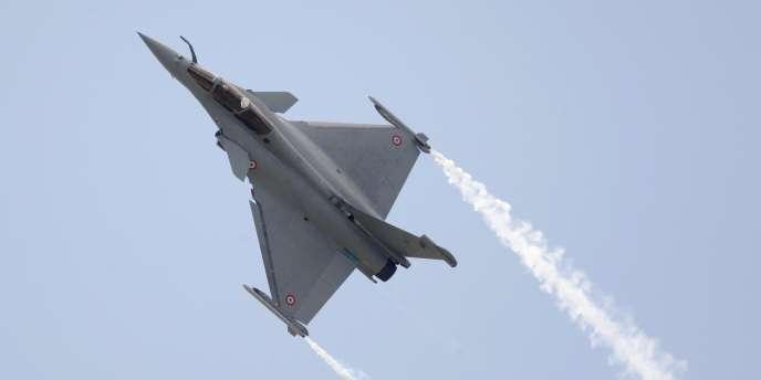 L'avion de chasse français Rafale, de Dassault Aviation, n'avait jusqu'à présent été vendu qu'à la France.