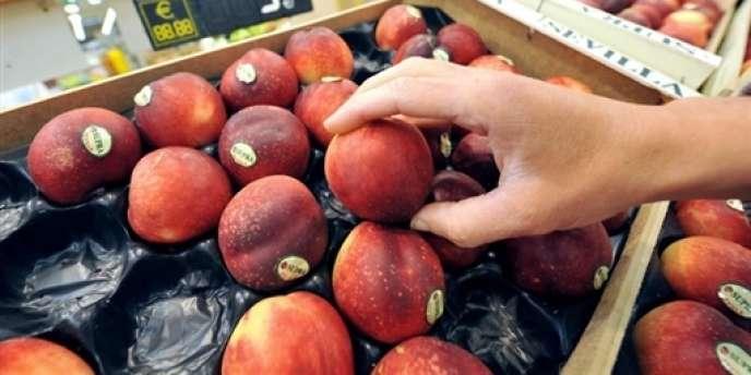 Les nectarines font partie des fruits et légumes ayant le plus augmenté, avec la salade, les pêches et les cerises.