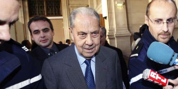 L'ancien ministre de l'intérieur Charles Pasqua, en juillet 2009.