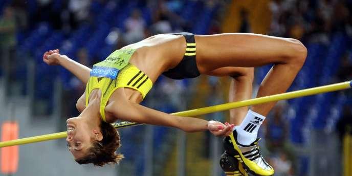 La Croate Blanka Vlasic, grande spécialiste du saut en hauteur.