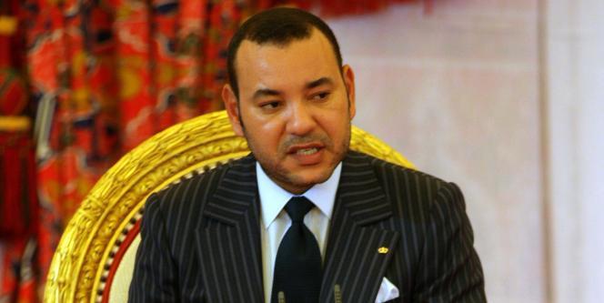 Le roi du Maroc, Mohammed VI, en mars 2006.