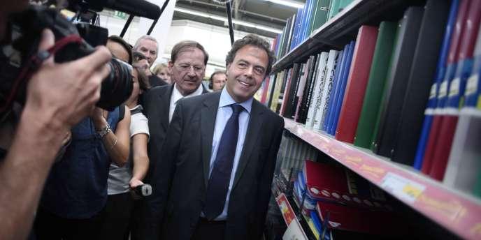 Luc Chatel et Hervé Novelli en 2009.