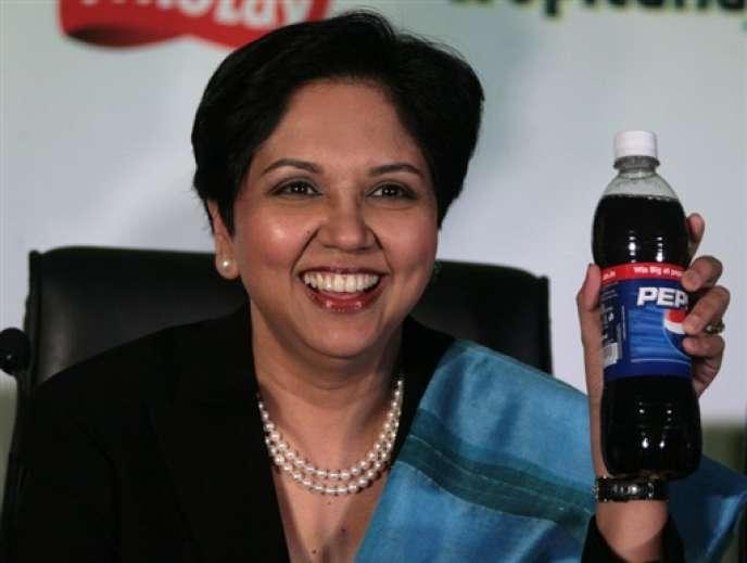 Indra Nooyi a pris les rênes du groupe PepsiCo en 2006.