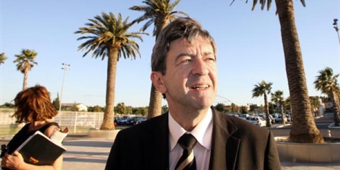 Le député européen et fondateur du Parti de gauche, Jean-Luc Mélenchon, ici en mai 2009.