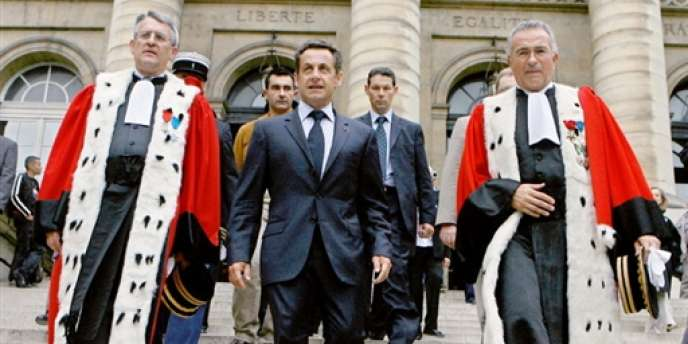 Nicolas Sarkozy le 5 juillet 2007.