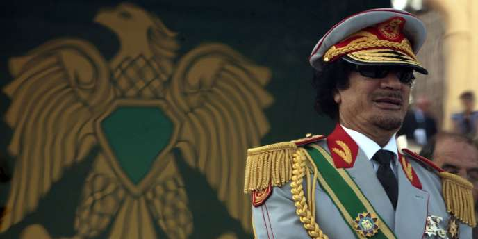 Mouammar Kadhafi, le 1er septembre 2009 à Tripoli.
