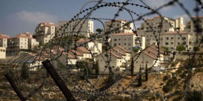 Colonies israéliennes en Cisjordanie, le 4 septembre 2009.