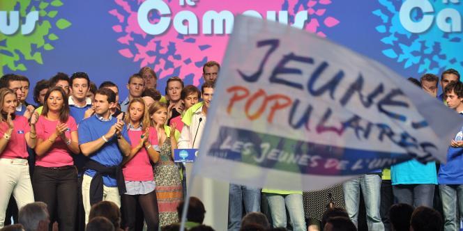 Meeting des jeunes de l'UMP à Seignosse, le 4 septembre 2009.