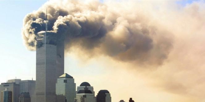 Attaques sur le World Trade Center, le 11 septembre 2001, à New York.
