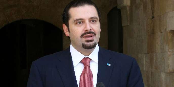 L'ancien premier ministre libanais Saad Hariri.
