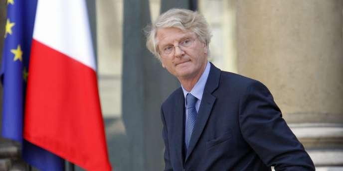 Baudouin Prot, le PDG de BNP Paribas, à l'Elysée en août 2009.