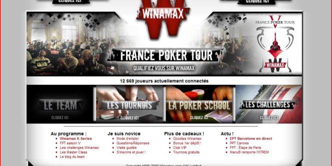 Le site de poker en ligne Winamax et Pokerstars captent actuellement les trois quarts des mises.