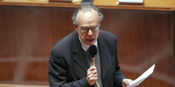 Frédéric Mitterrand, le ministre de la culture, à l'Assemblée nationale le 15 septembre 2009.