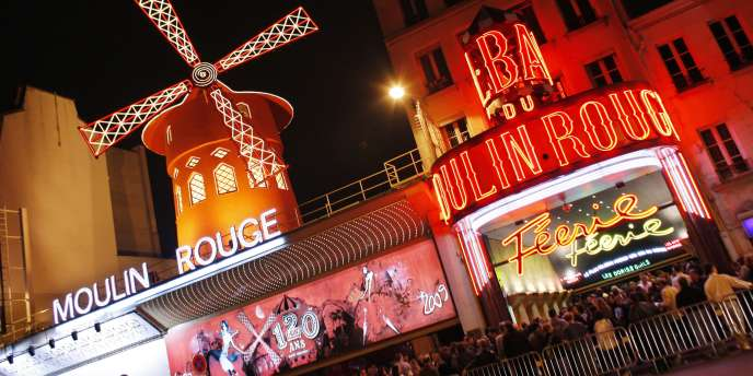 Le Moulin Rouge, en 2009.