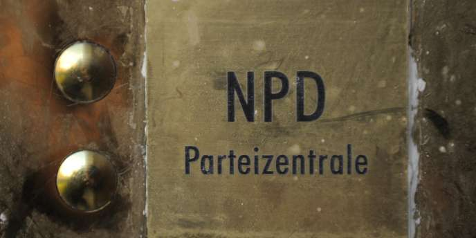 Le siège du NPD à Berlin en septembre 2009.