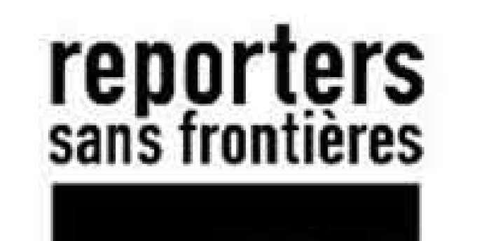 Le logo de Reporters sans frontières (RSF).
