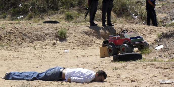 Plus de 1 300 personnes ont péri lors de la guerre de la drogue en 2009 à Ciudad Juarez, au Mexique.