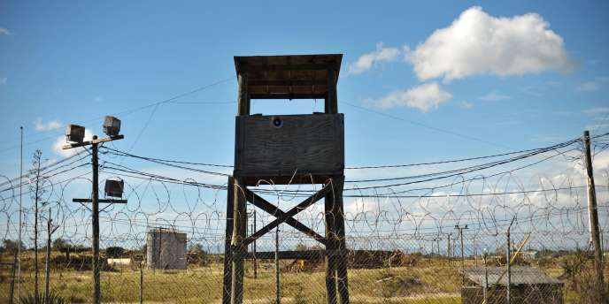 Vue de la prison de Guantanamo, le 9 décembre 2008.