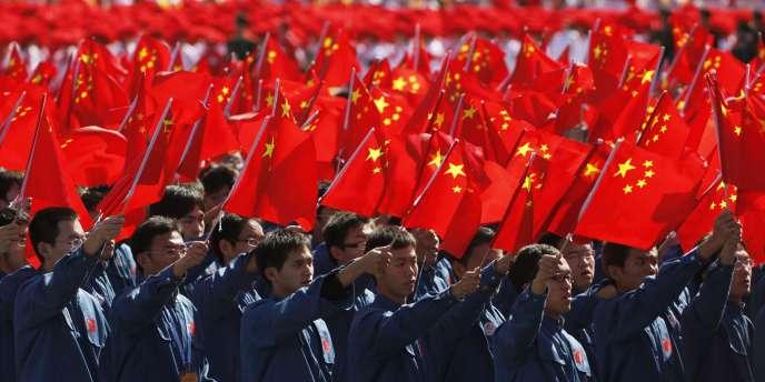 Célébration du 60e anniversaire de la fondation de la République populaire de Chine, le 1er octobre, à Pékin.
