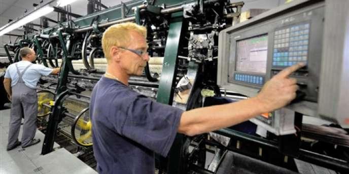 D'après l'indice PMI manufacturier, publié jeudi 2 janvier, l'activité dans ce secteur s'est contractée en France en décembre 2013, tombant à 47 points, un plus bas depuis sept mois.