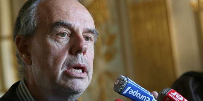 Frédéric Mitterrand, fervent soutien de Roman Polanski.
