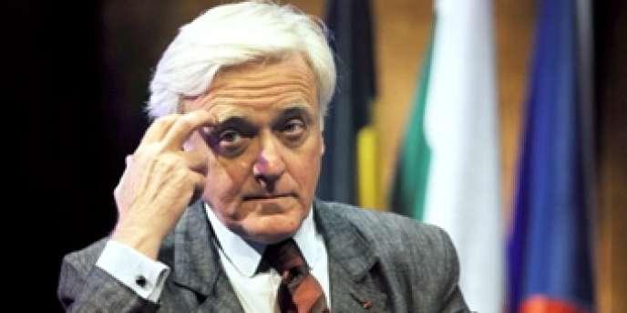 L'historien et ambassadeur d'Israël en France de 2000 à 2002, Elie Barnavi, à Lyon, le 21 juin 2008.