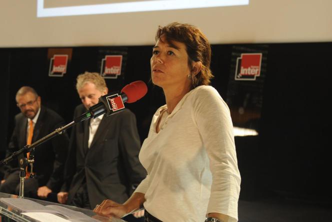 Hélène Jouan, journaliste à France Inter.